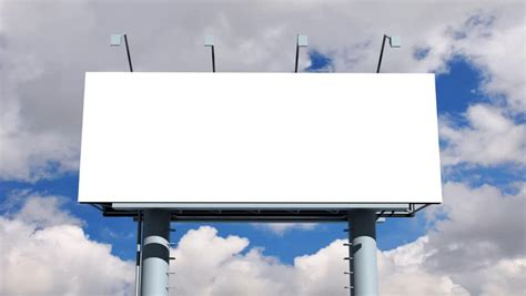 Blank Billboard Template billboard  empty screen stock footage video 852 x 480 · jpeg