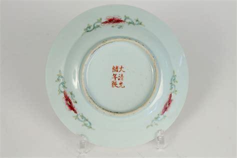paire de plats chinois en porcelaine de la famille rose