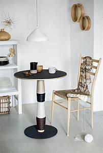 Pied De Table Original : customiser un pied de table comme une bobine de fil marie claire ~ Teatrodelosmanantiales.com Idées de Décoration