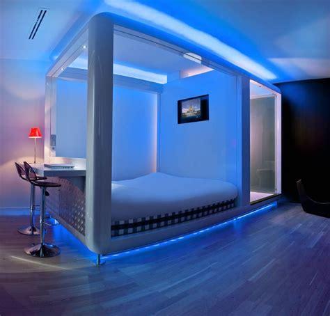green led lights lowes design hotels amsterdam qbic hotels