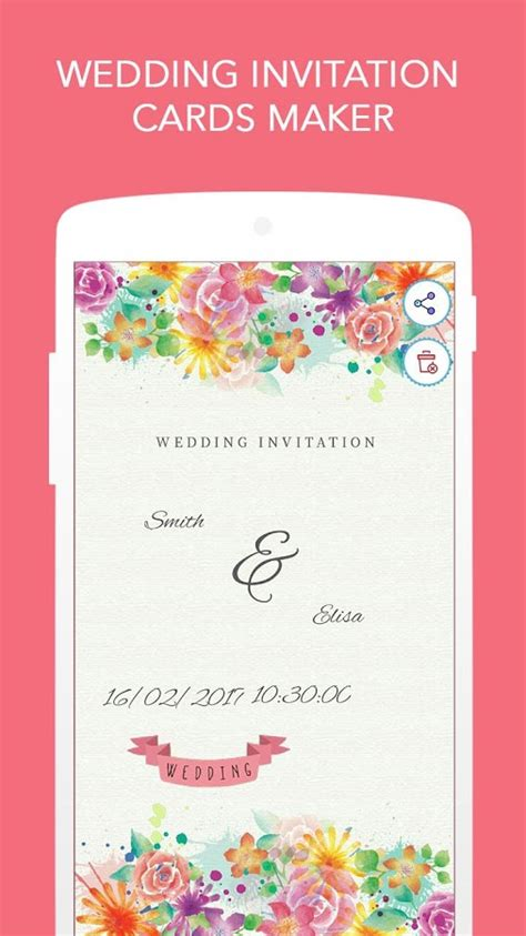wedding invitation cards maker  android