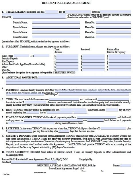 desk rental agreement template printable sle free printable rental agreements form