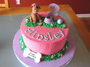 Dog-Themed 2Nd Birthday Cake - CakeCentral com