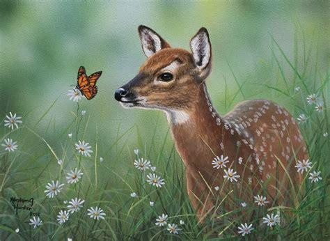 acrylic painting  abraham hunter paintings