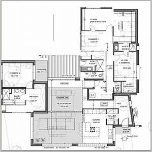 plan maison 170 m2 plain pied ventana blog With plan maison 170 m2 plain pied