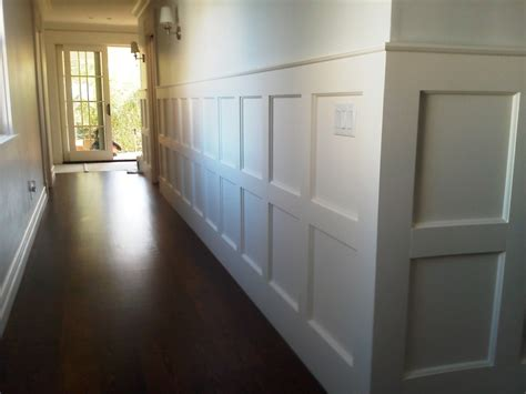 White Modern Wainscoting — John Robinson Decor  Modern. Small Simple Kitchen Design. White Kitchen Wall Clocks. Small Kitchen Cupboard. White Kitchen Appliance Packages
