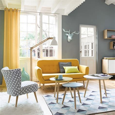 maison du monde auxerre maisons du monde sala multifuncions yellow sofa living rooms and salons