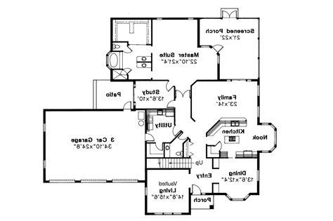 Mediterranean House Floor Plans by Mediterranean House Plans Amherst 11 030 Associated