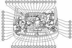 2008 Lexus Rx 350 Knock Sensor Location