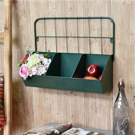 wall mounted kitchen organizer 2pcs vintage style wall mount metal rack organizer kitchen 6950