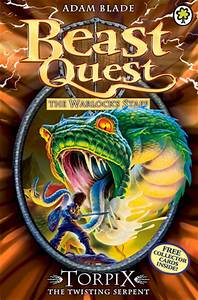 Torpix The Twisting Serpent (Beast Quest, #54) by Adam ...