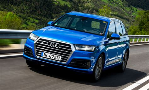 audi jeep 2016 2017 audi q7 pricing and features detailed news car