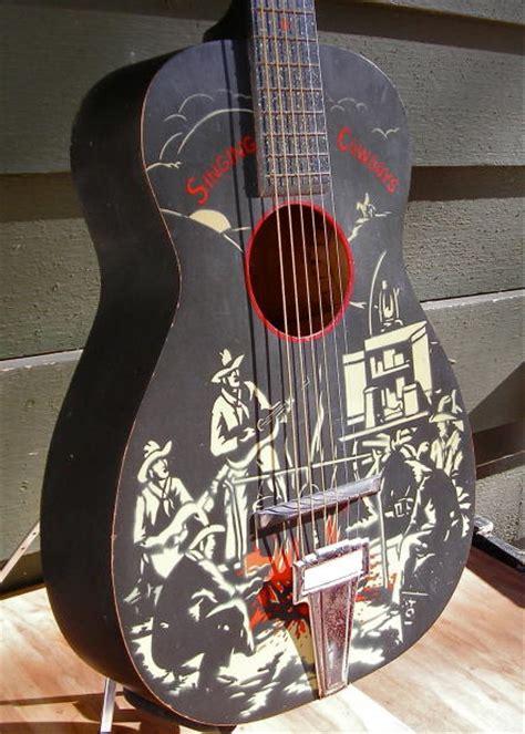 supertone cowboy guitar singing cowboys