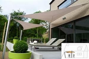 Protection Soleil Terrasse : toile terrasse voile d ombrage rectangulaire chromeleon ~ Nature-et-papiers.com Idées de Décoration