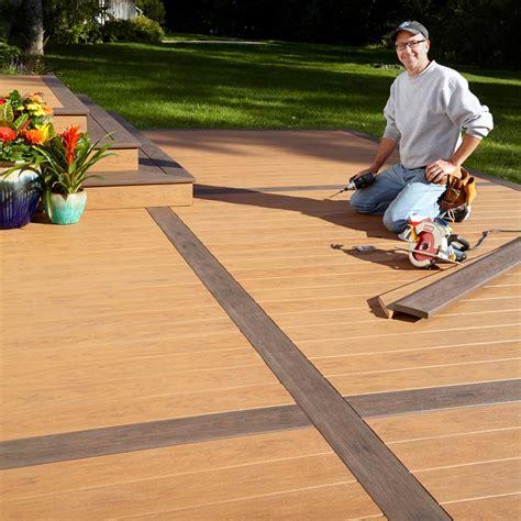 build  deck   concrete patio