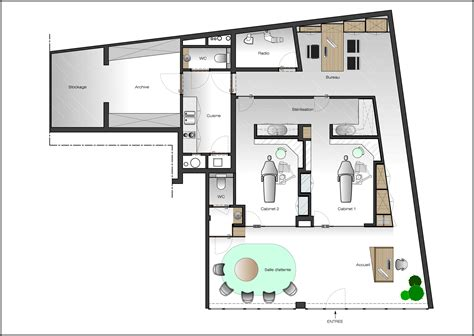 christophe ternest architecte d int 233 rieur projets priv 233 s cabinet dentarie delhaye