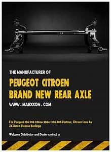 Marxxon Peugeot 106 206sw 206cc 306 Partner Citroen Ax