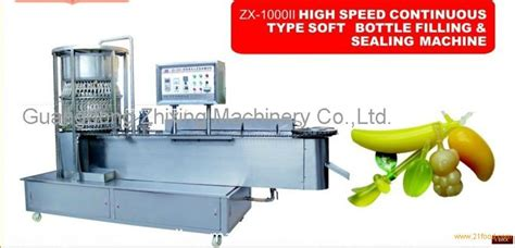 zx ii high speed continuous type soft bottle filling sealing machine productschina zx