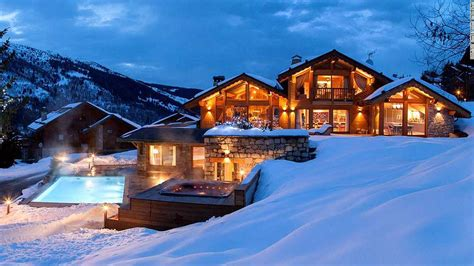 9 of the best luxury ski chalets in europe cnn