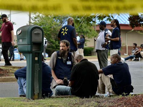 walmart employees shot dead  store allegedly