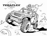 Coloring Trip Jeep Teraflex Boys Exclusive Vicoms Ghost Rider Panther sketch template