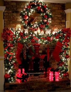 13, Wintry, Christmas, Fireplace, Decorations, To, Celebrate, The, Beauty, Of, The, Season