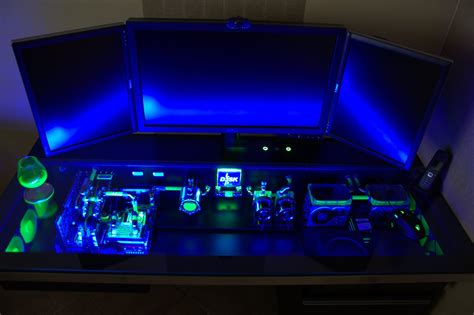 pc bureau gaming this custom built computer desk will your pc