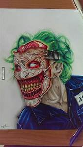 Graph Paper Drawing Ideas Here Is My Joker Drawing Joker Drawings Joker Art
