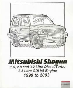 Workshop Manual Mitsubishi Pajero Shogun Montero 1999