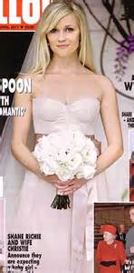 reese witherspoon wedding dress biel wedding is just the in a string of to go for blushing bridal