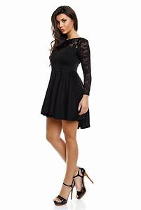 robes manches longues With robe noire manches longues