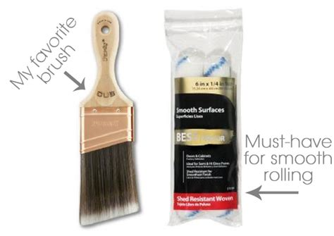 best paint brush for kitchen cabinets best brush and roller for painting furniture including 9165