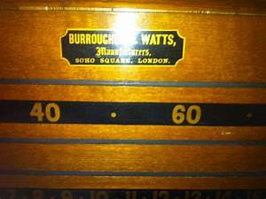Burroughes and watts