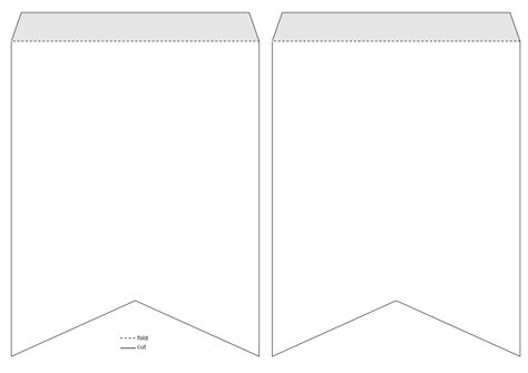 banner template png clipart pennant banner template