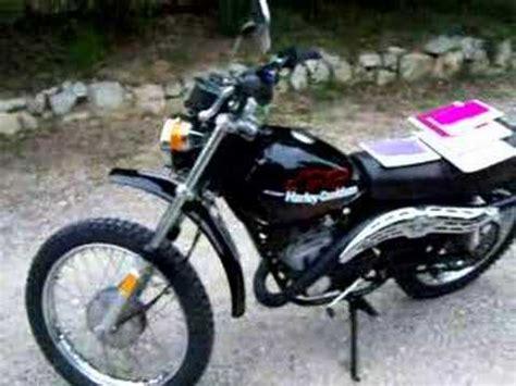 harley davidson 125cc aermacchi harley davidson sxt 125cc 1977 vue statique