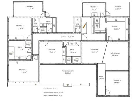 Plan D Une Maison En 3d Plan D Une Maison En L