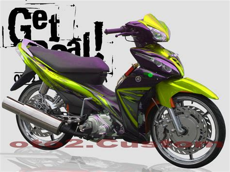 Modif Mx New by Modif Yamaha New Jupiter Mx 2010 Oto Trendz Car Interior