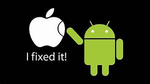 Apple, Inc, Android, Operating, System, Black, Background