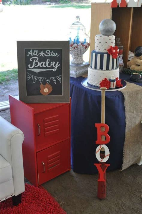 Baby Shower Baseball Theme Decorations - quot all quot baby shower ideas basketball baseball