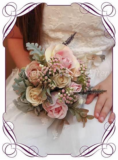 Samantha Flower Posy Bouquets Flowers Silk Artificial