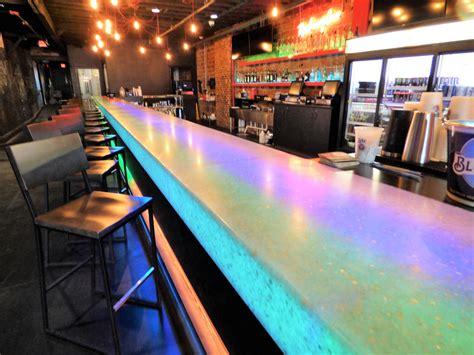 custom commercial bar countertops creative surfaces