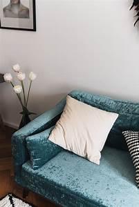 Sofa Samt Blau : samt sofa blau zuhause image idee ~ Sanjose-hotels-ca.com Haus und Dekorationen