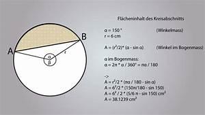 Kreis Winkel Berechnen : video kreisabschnitt berechnen so geht 39 s ~ Themetempest.com Abrechnung
