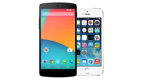 nexus 5 phone nexus 5 vs iphone 5s tech spec shootout