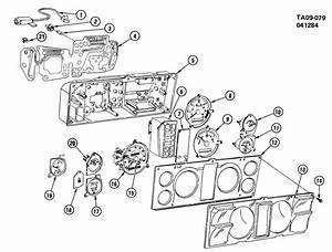 Chevrolet S10 Instrument Cluster  Circuit  Printed Circuit