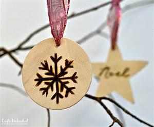 Christmas Ornaments: Wood Burned Ornament Tutorial