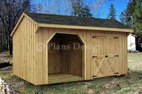 8 x 16 shed plans combo firewood and storage shed plans blueprints 8x16 ft