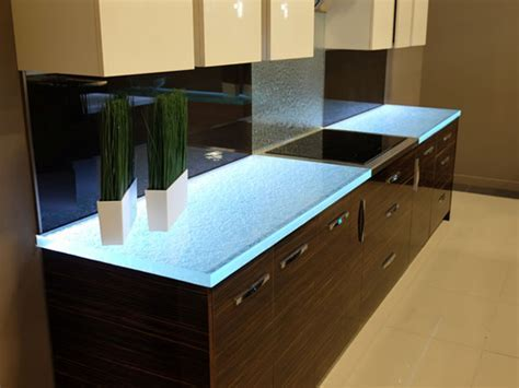 Glass Countertops are Transforming Kitchens Worldwide