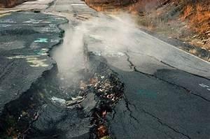 CENTRALIA, PA, USA - UNDERGROUND COAL FIRE One of...