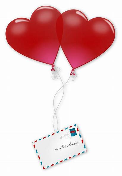Valentine Clipart Balloons Mail Clipartmag